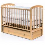 детская кроватка Fiorellino Tina, бежевая