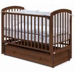 детская кроватка Fiorellino Tina, орех