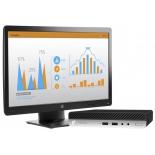 Неттоп HP ProDesk 400 G3 Mini, с монитором, купить за 40 655руб.