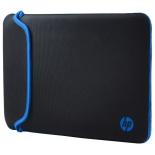 сумка для ноутбука Чехол HP Chroma Sleeve 13.3, черный/синий