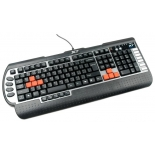 клавиатура A4Tech X7-G800 USB черная