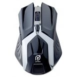 Мышь Perfeo PF-1718-GM Galaxy USB, черная, купить за 620руб.