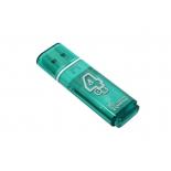 Usb-флешка SmartBuy Glossy 4Gb зеленая, купить за 675руб.