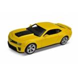 радиоуправляемая модель Welly  Chevrolet Camaro ZL1, желтая