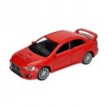 радиоуправляемая модель Welly Mitsubishi Lancer Evolution X, красная