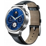 Умные часы Huawei Watch Classic Leather Mercury-G00 (55020700), серебристые