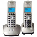 радиотелефон Panasonic KX-TG2512RUN , золотистый