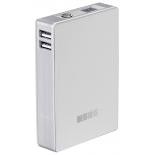 аксессуар для телефона InterStep PB104002UW внешний аккумулятор белый 10400 mAh