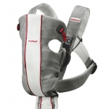 рюкзак-кенгуру BabyBjorn Original Mesh, Серый с белым
