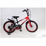 двухколесный велосипед RiverBike F-16, красный/черный