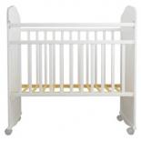 детская кроватка Агат Золушка-8, белая