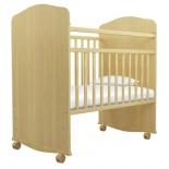 детская кроватка Агат Золушка-8, светлая