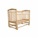 детская кроватка Агат Золушка-3, светлая