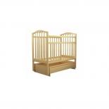 детская кроватка Агат Золушка-4, светлая