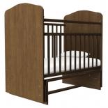 детская кроватка Агат Золушка-10, орех
