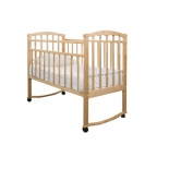детская кроватка Агат Золушка-1, светлая