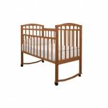 детская кроватка Агат Золушка-1, орех