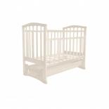 детская кроватка Агат Золушка-6, слоновая кость