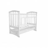 детская кроватка Агат Золушка-6, белая