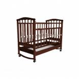 детская кроватка Агат Золушка-2, вишня
