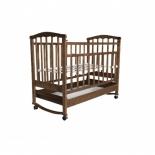 детская кроватка Агат Золушка-2, орех