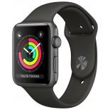 Умные часы Apple Watch Series 3 42mm черные
