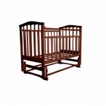 детская кроватка Агат Золушка-3, вишня