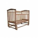 детская кроватка Агат Золушка-3, орех