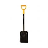 лопата совковая Solid (132622), Черная
