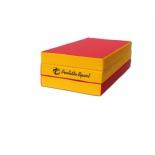 мат гимнастический Perfetto Sport № 4, красно-жёлтый