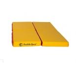 мат гимнастический Perfetto Sport № 11 красно-жёлтый