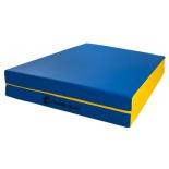 мат гимнастический Perfetto Sport № 8 blue-yellow
