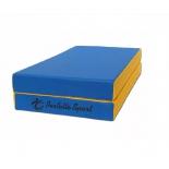 мат гимнастический Perfetto Sport № 3 blue-yellow