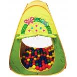 товар для детей Игровой домик Треугольный Ching Ching CBH-20, 100 шариков