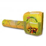 товар для детей Игровой домик Ching Ching квадратный + туннель + 100 шариков CBH-23
