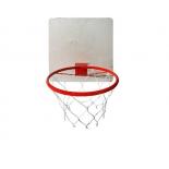 кольцо баскетбольное КМС с сеткой 380 мм