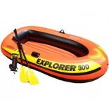 лодка надувная Intex Explorer-300 Set 58332 (трехместная)