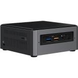 неттоп Intel NUC BOXNUC7I5BNH черный/серый