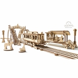 конструктор Ugears - Трамвайная линия, 3D-пазл