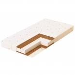 матрас для детской кроватки Plitex Юниор-плюс 120x60 (ортопедический)