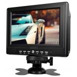 портативный телевизор Digma DCL-700 черный