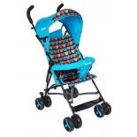 коляска BamBola Love (трость), голубая