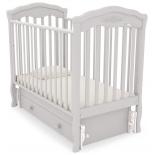 детская кроватка Гандылян Шарлотта, белая