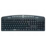 клавиатура CBR KB 340GM Black-Silver USB