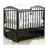 детская кроватка Красная Звезда Регина C580, шоколад