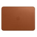 аксессуар для ноутбука Apple Leather Sleeve, чехол, MQG12ZM/A, золотисто-коричневый