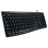 клавиатура Logitech Keyboard K200 For Business, черная