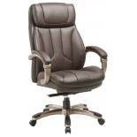 кресло офисное Бюрократ T-9921 коричневое