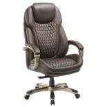 кресло офисное Бюрократ T-9917 коричневое