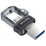 usb-флешка SanDisk Ultra Dual Drive m3.0 32Gb (SDDD3-032G-G46), черная